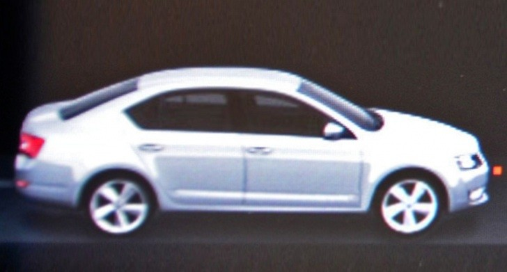 2013 Skoda Octavia III Photo, Headlight Leaked