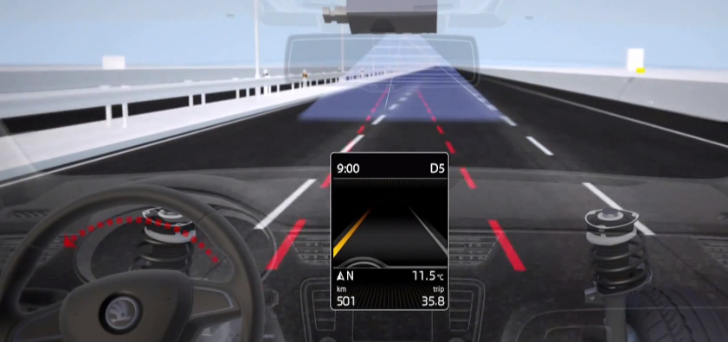 2013 Skoda Octavia Lane Assist Explained [Video]