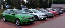 2013 Skoda Octavia RS Liftback and Combi: Real World Pictures [Photo Gallery]
