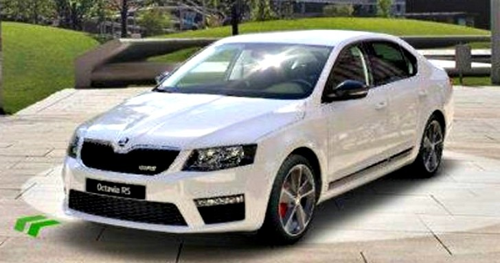 2013 Skoda Octavia RS Pictures Leaked