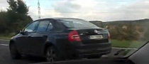 2013 Skoda Octavia Spotted With Minimal Camouflage [Video]