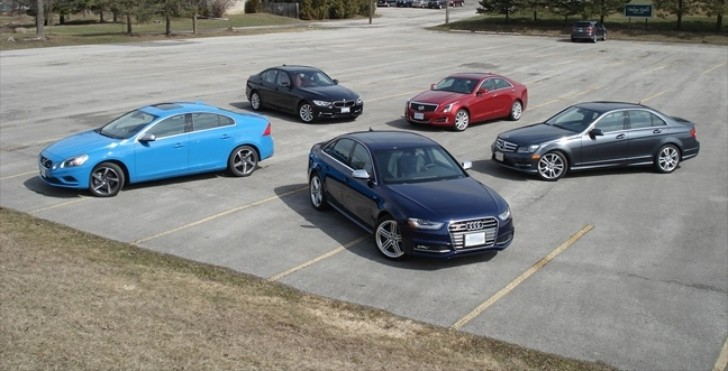 2013 Sports Sedan Comparison: BMW 335i Fights to Keep Its Crown