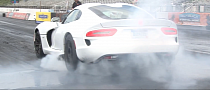 2013 SRT Viper Does a Burns Rubber, Runs 11.1s Quarter Mile [Video]