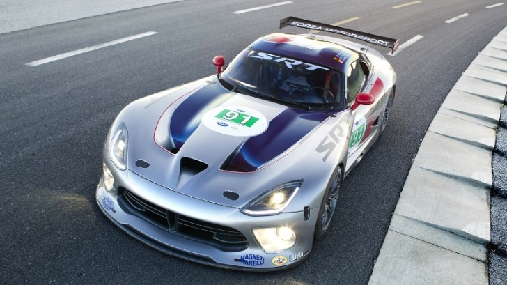 2013 SRT Viper GTS-R Limited to 180 MPH [Photo Gallery]