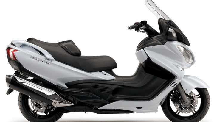 2013 Suzuki Burgman 650 Is All New [Photo Gallery]