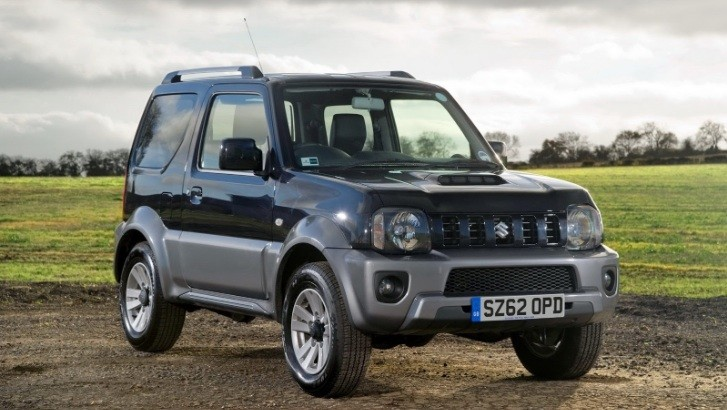 2013 Suzuki Jimny Facelift UK Pricing