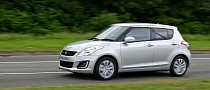 2013 Suzuki Swift Facelift Launched in the UK