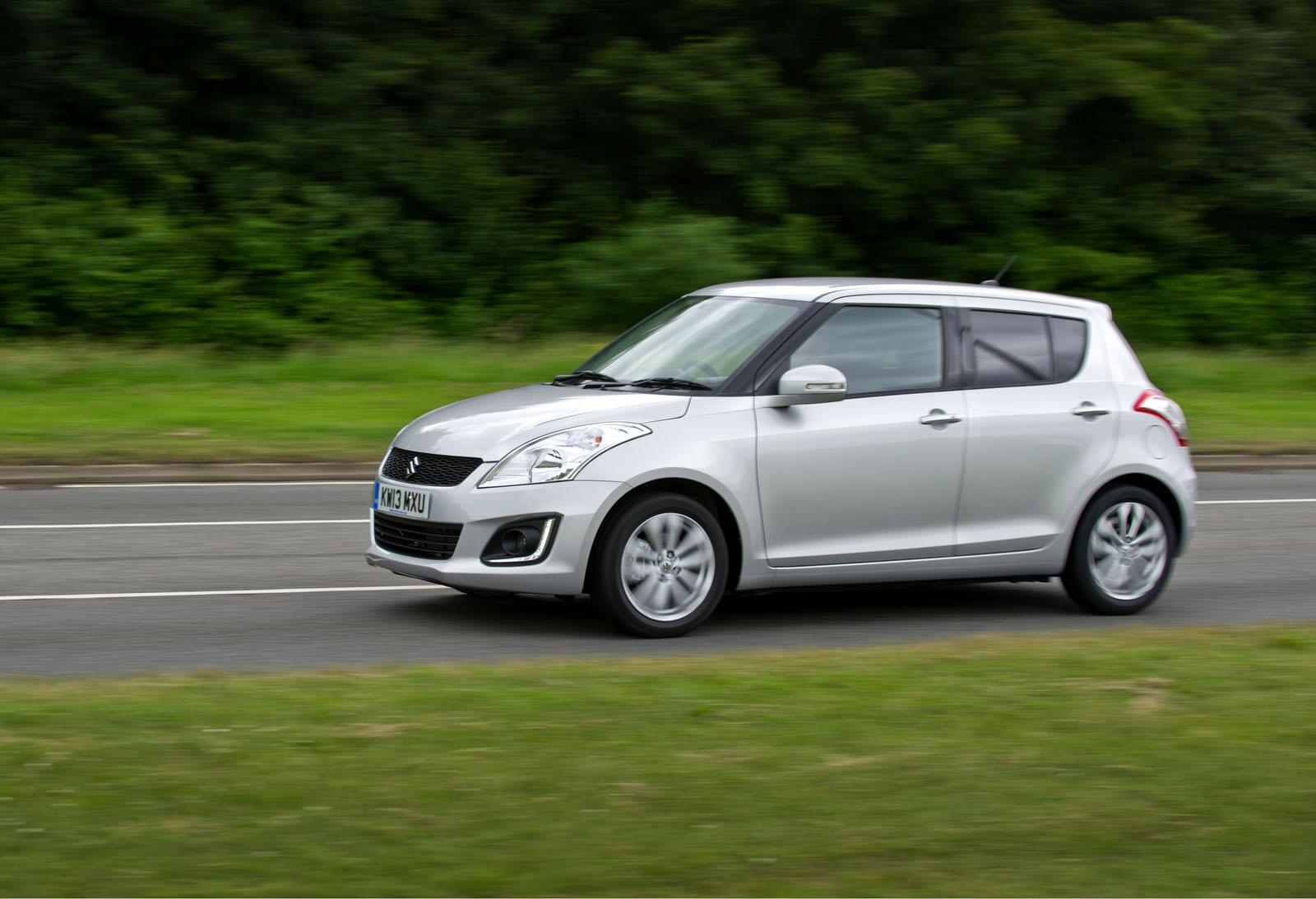 2013 Suzuki Swift Facelift Launched in the UK  autoevolution