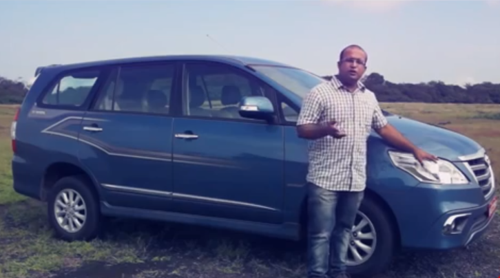 2013 Toyota Innova First Drive in India [Video]