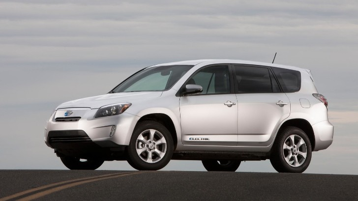 2013 Toyota RAV4 EV Tested by Wired