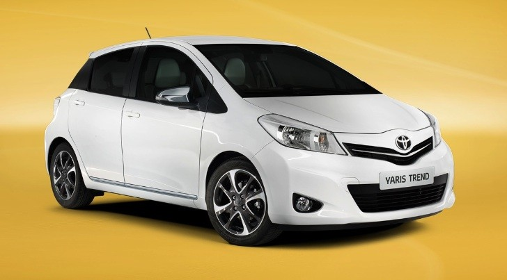 2013 Toyota Yaris Updates for UK Market