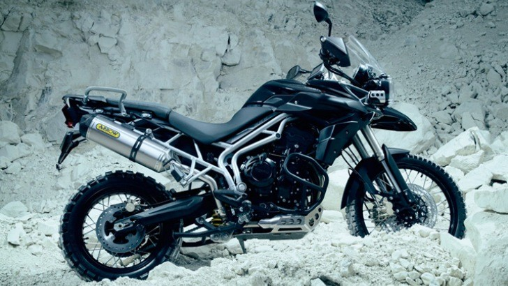 2013 Triumph Tiger 800XC Challenges You to Ride It To The Middle of Nowhere [Photo Gallery]
