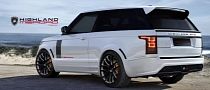 2013 Range Rover Becomes Two-Door GTC by Merdad