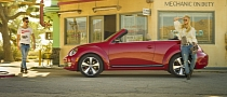 2013 Volkswagen Beetle Convertible Revealed [Photo Gallery]