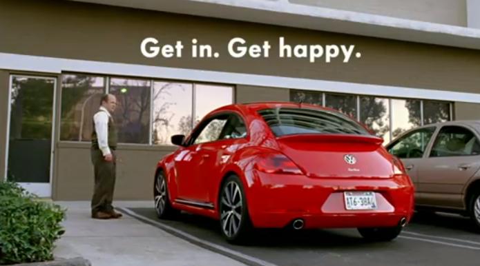 2013 Volkswagen Beetle Super Bowl Commercial: Get In. Get Happy - autoevolution