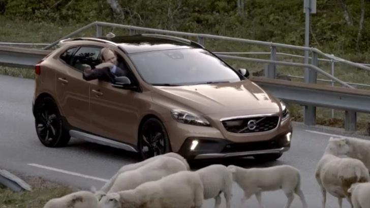 2013 Volvo V40 Cross Country Makes Video Debut Autoevolution