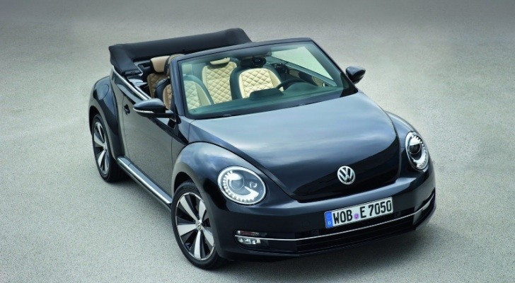 2013 VW Beetle Coupe and Cabriolet Exclusive Editions