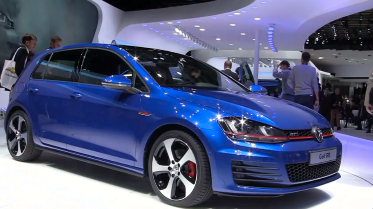 2013 vw golf vii gti 5 door in blue autoevolution