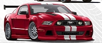2013 Widebody Ford Mustang by APR Previewed Ahead of SEMA Debut