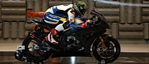 2013 WSBK: BMW S1000RR and Chaz Davies Wind Tunnel Positioning Tweaks