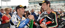 2013 WSBK: Insane Finish for Melandri and Guintoli in Race 1 at Portimao