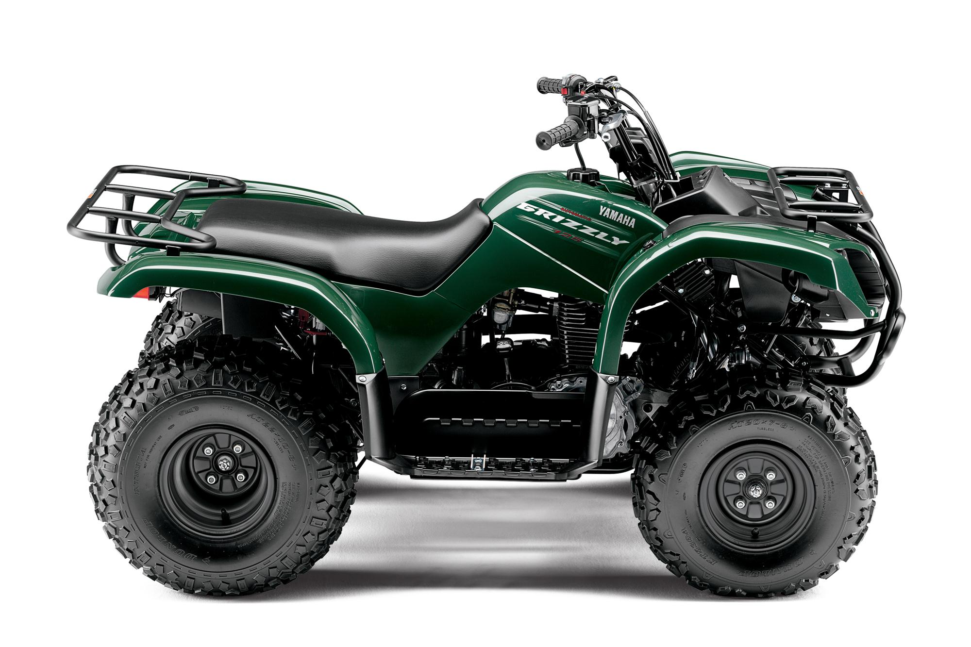 2013 yamaha grizzly 125 automatic the easy way to mastering atvs autoevolution. Black Bedroom Furniture Sets. Home Design Ideas