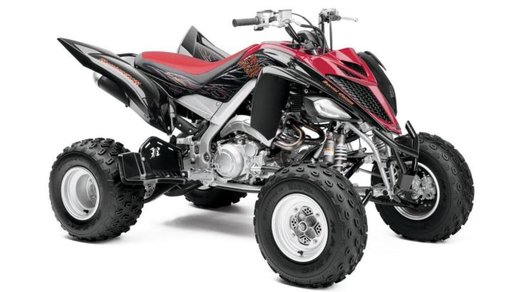 2013 yamaha raptor 700r se the ultimate quad aggression. Black Bedroom Furniture Sets. Home Design Ideas