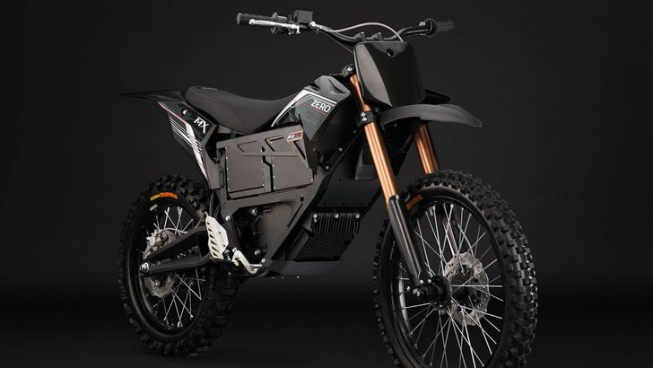 2013 Zero MX Electric Bike Detailed [Photo Gallery]