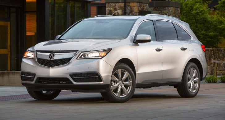 2014 Acura Mdx And Rdx Get 5 Star Safety Rating From Nhtsa
