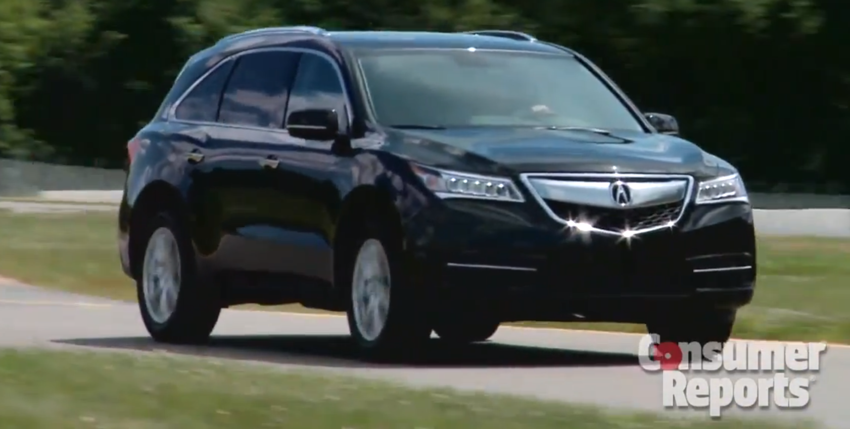 Acura MDX Gets Positive Review From Consumer Reports - Acura mdx review 2014