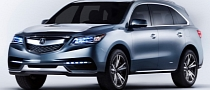 2014 Acura MDX Heading to New York