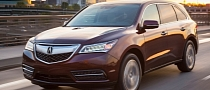 2014 Acura MDX Pricing Starts at $43,185