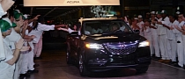 2014 Acura MDX Production Begins in Alabama