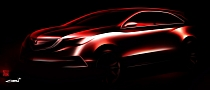 2014 Acura MDX Prototype Teased ahead of Detroit Debut