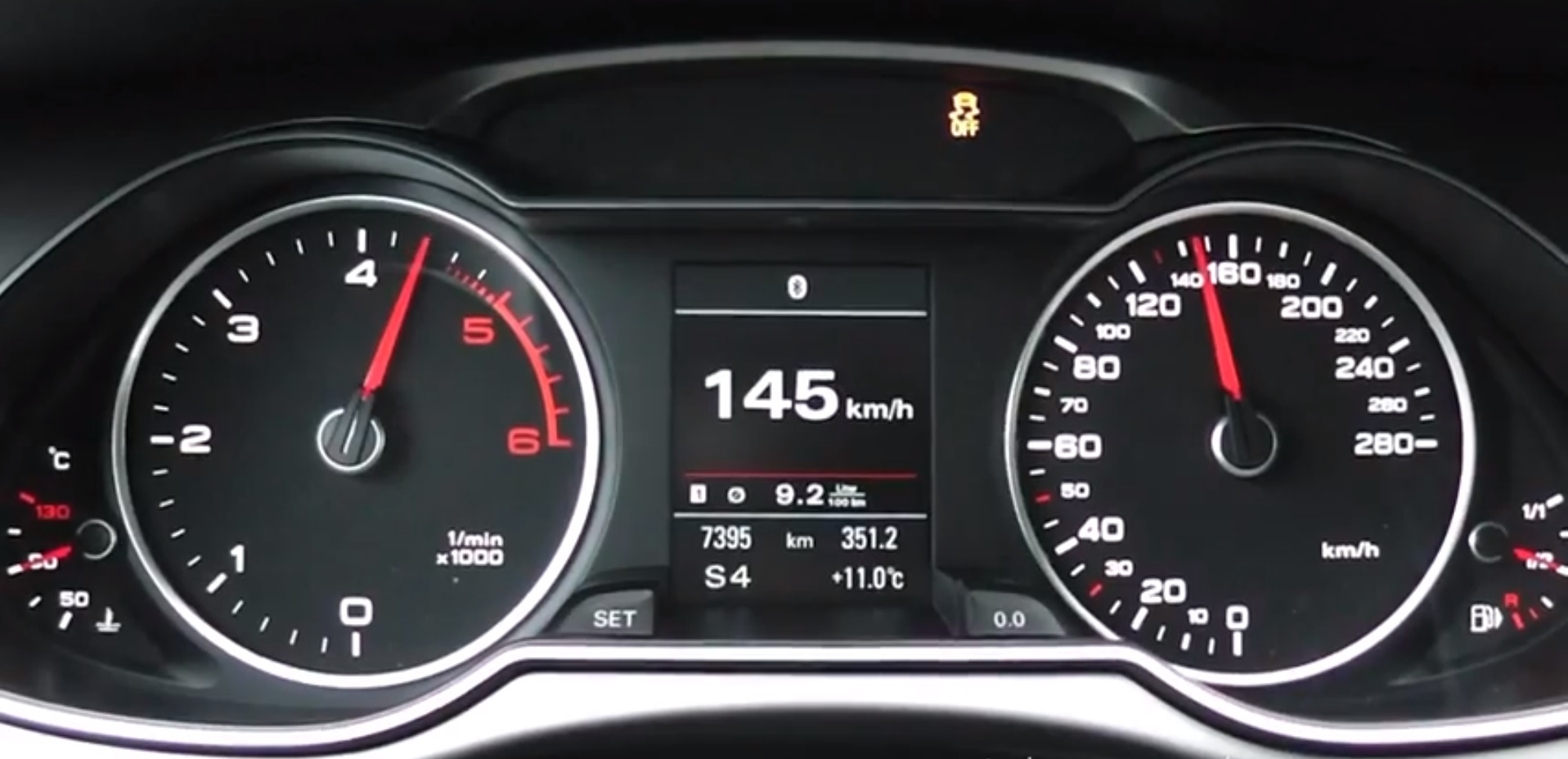 2014 Audi A4 3 0 Tdi 245 Hp Acceleration Test With Launch Control