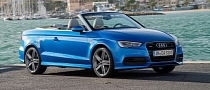 2014 Audi A3 Cabriolet UK Pricing Announced [Photo Gallery]