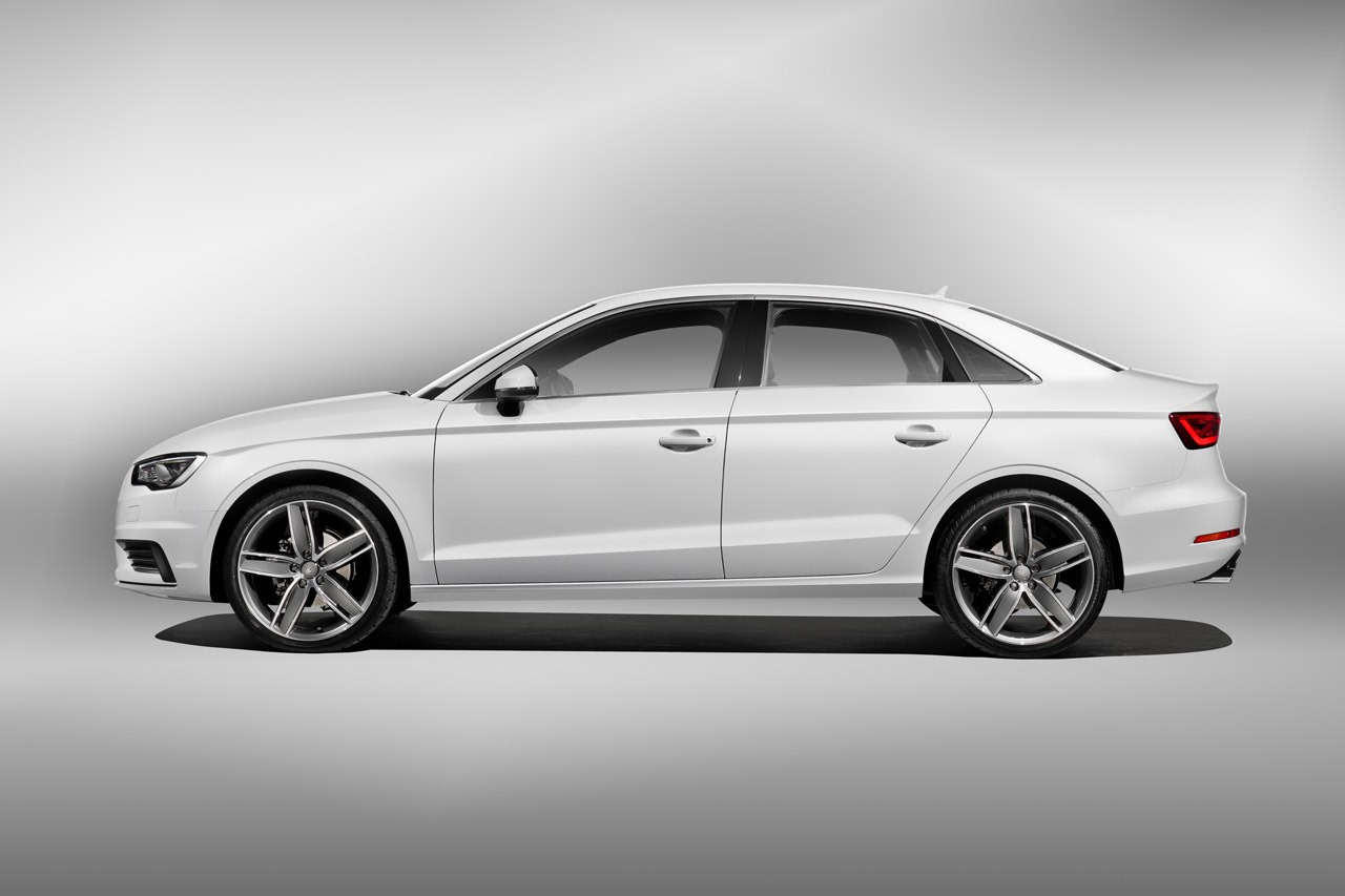 White Audi A4 Sport >> 2014 Audi A3 Sedan Revealed - autoevolution