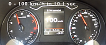 2014 Audi A3 Sportback 1.4 TFSI 122 HP Acceleration Test [Video]