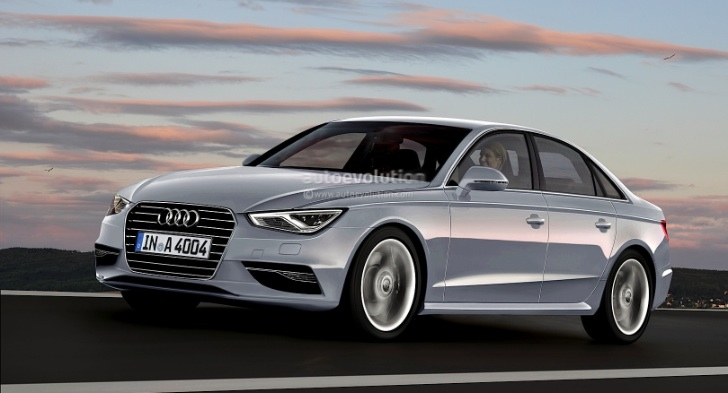 2014 Audi A4 (B9) to Have Cylinder Deactivation