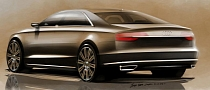 2014 Audi A8 Facelift Revealed in Design Sketches