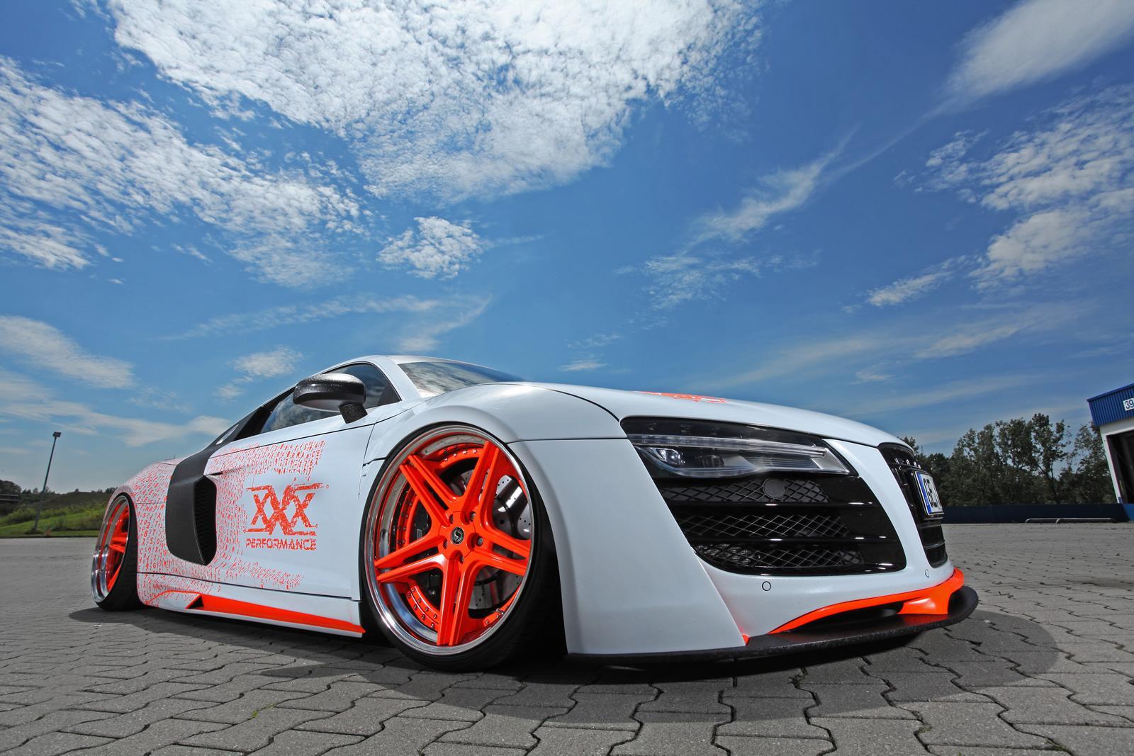 2014 Audi R8 Gets Killer Slammed Look from xXx Performance - autoevolution
