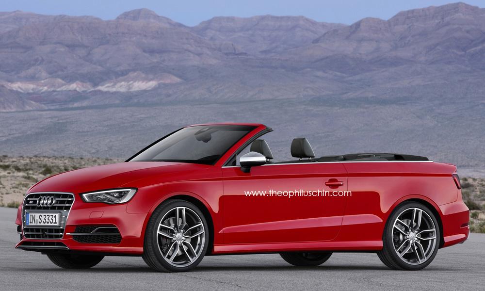 2014 Audi S3 Cabriolet Rendering Autoevolution