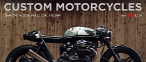 2014 Bike EXIF Shows Awesome Custom Bikes Calendar, Available Now