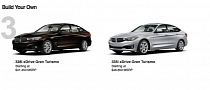 2014 BMW 3 Series GT Configurator Now Online