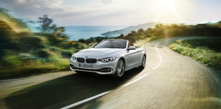 2014 BMW 4 Series Convertible Officially Unveiled [Photo Gallery]
