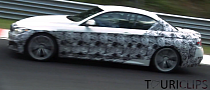 2014 BMW 4 Series Convertible Spotted Track Testing [Video]