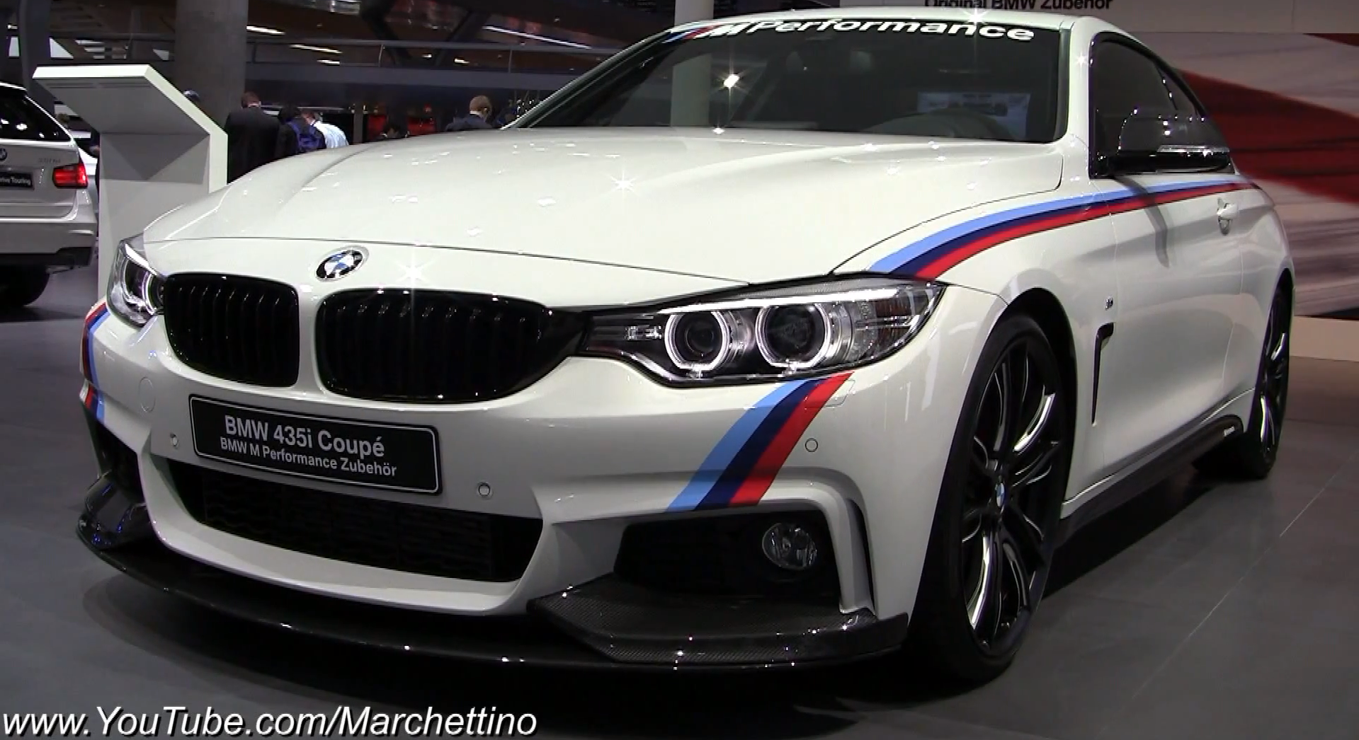 2014 bmw 435i m performance walkaround at 2013 iaa autoevolution. Black Bedroom Furniture Sets. Home Design Ideas