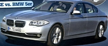 2014 BMW 5-Series Facelift Shown in Magazine Scan