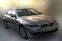 2014 BMW 5 Series Facelift Spotted Undisguised in China