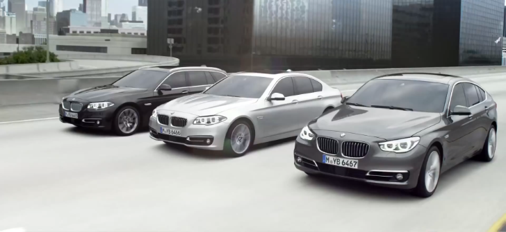 2014 BMW 5 Series LCI Arsenal Gets Launch Clip [Video]